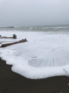 岩代浜  足元まで  波が押し寄せる.JPG